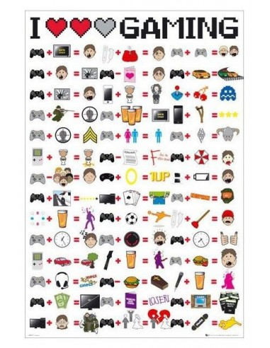 POSTER I LOVE GAMING