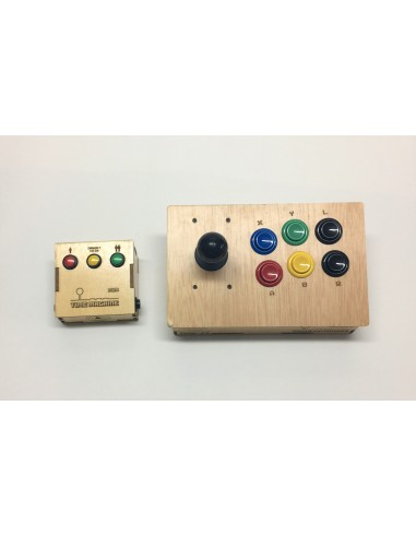 Pack Time Machine Mini + Joystick Player2 by TOAD
