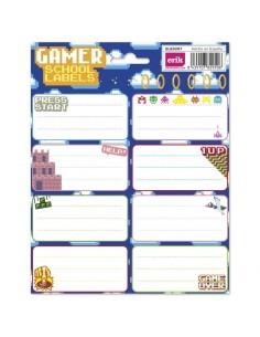 Etiquetas adhesivas Gamer
