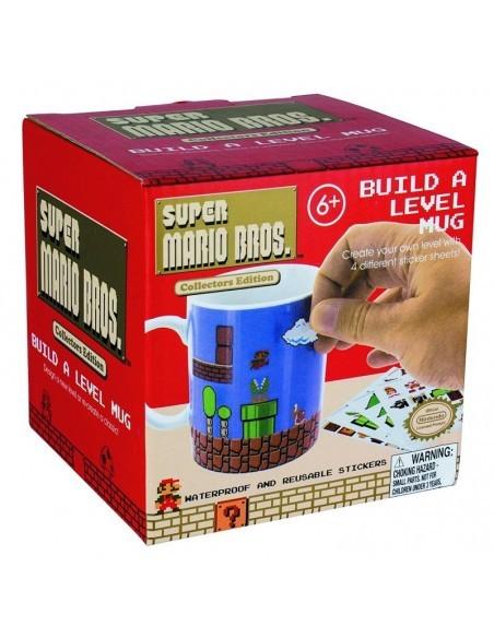 Taza Super Mario Bulid a Level