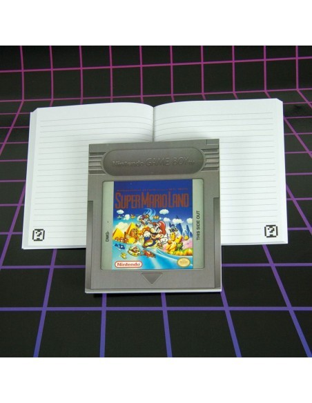 Cuaderno Gameboy Cartridge